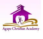Agape Christian Academy Summer Camp