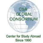 CSA Budget Study Abroad